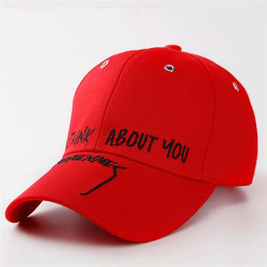 Unisex Casual Snap Back Cotton Baseball Cap