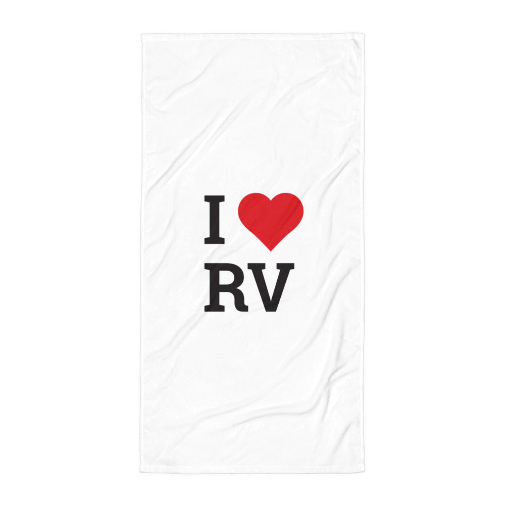 I Love Rovinj Towel