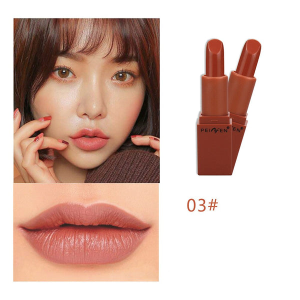 Women's Fashion Beauty Waterproof Long Lasting Lip Matte Lipstick Lip Gloss Makeup Set