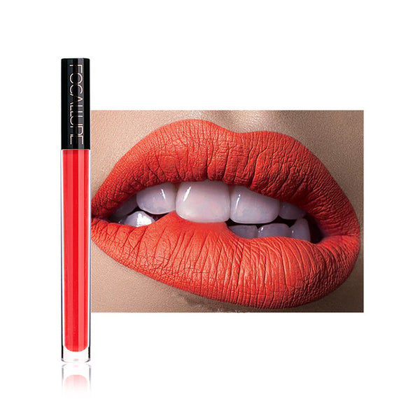 Women's Fashion New Fashion Lipstick Cosmetics Women Sexy Lips Matte Lip Gloss Party Lip Gloss