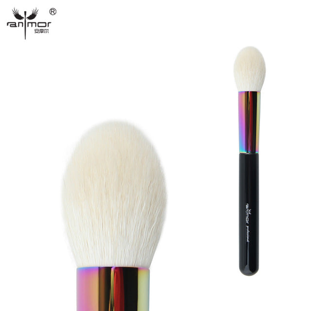 Goat Hair Tapered Face Makeup Brushes High Quality Professional Powder Blush