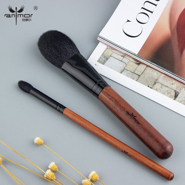 High Quality Goat Hair Makeup Brushes Set Professional Brushes For Makeup