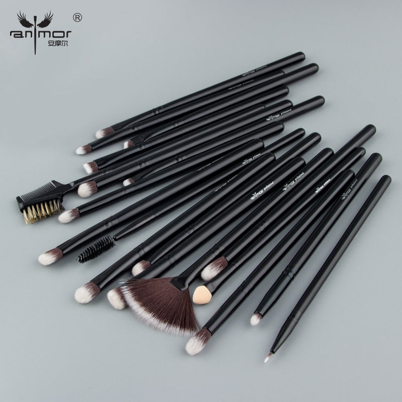 Professional Make Up Brushes High Quality 19 Pcs/Set