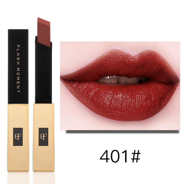 Bullion Matte Lipstick for Lip Makeup Red Lipstick Waterproof