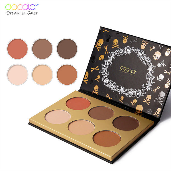 Docolor professinal Eyeshadow bronzer and highlighter palette Blush powder makeup glow kit highlighter contour palette