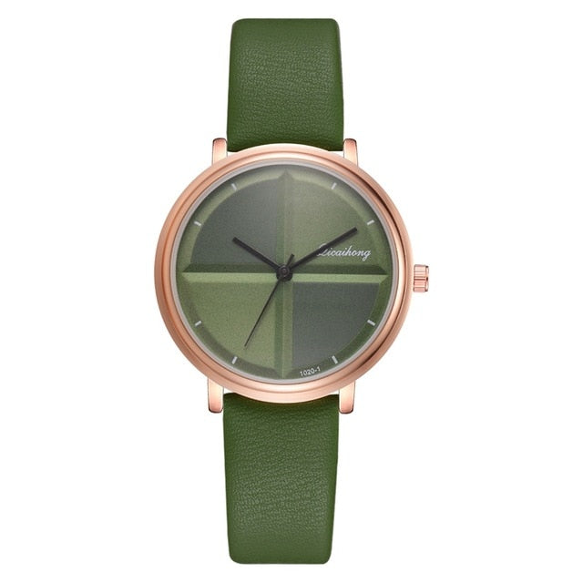 Simple Style Women Watches