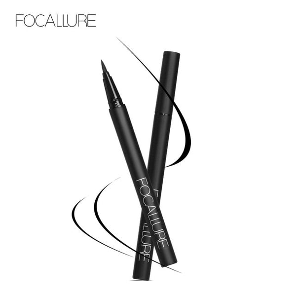 FOCALLURE Black Liquid Eyeliner pencil waterproof eye liner easy to wear smooth long lasting eyeliner pen eyes makeup