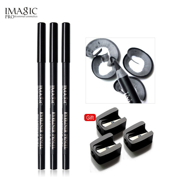 IMAGIC Eyeliner Pen Female Brown Extremely Long-lasting Pseudo-smooth makeup Waterproof and sweat-proof Not easy to bleach