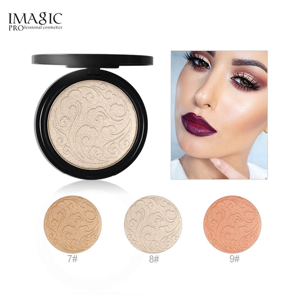 IMAGIC High lighter Powder makeup professional brightening facial contour Highlighter Powder 3 color for choose