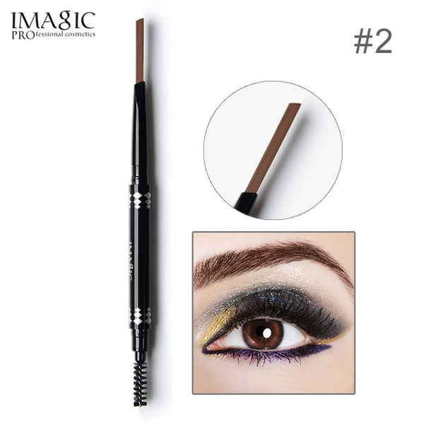 IMAGIC New 5COLOR Eye Brow Tint Cosmetics Natural Long Lasting Paint Tattoo Eyebrow Waterproof Black Brown Eyebrow Pencil Makeup