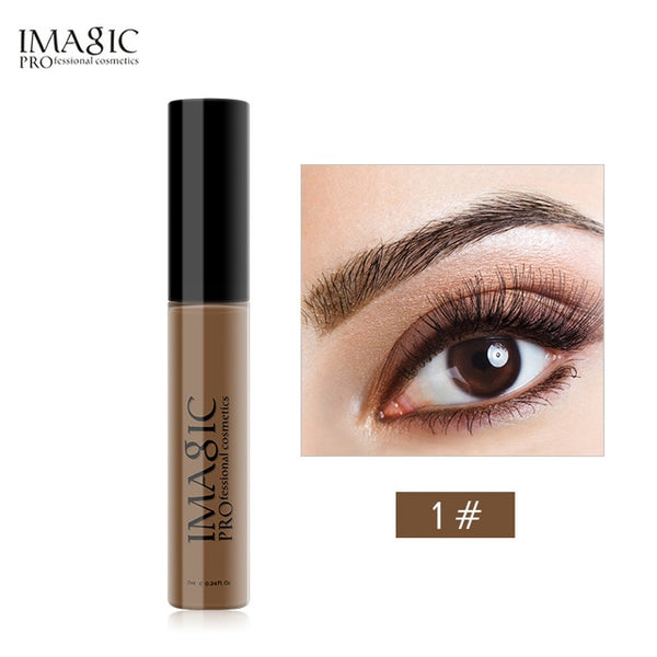 IMAGIC New Arrivals Professional Eyebrow Gel High Brow Tint Makeup Eyebrow Brown Eyebrow Gel With Brow Brush Tools