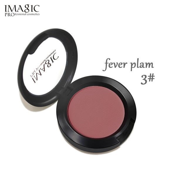 IMAGIC  Professional Blusher Natural Face Pressed  Makeup  Palette Blusher  Waterproof Nature Finish Beauty Brand 8 Color