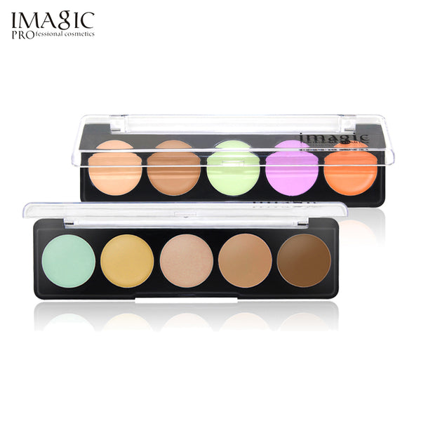 IMAGIC Professional Concealer Palette  Concealer Facial Face Foundation Cream  Makeup Cosmetic Beauty  With 2 Style Palette