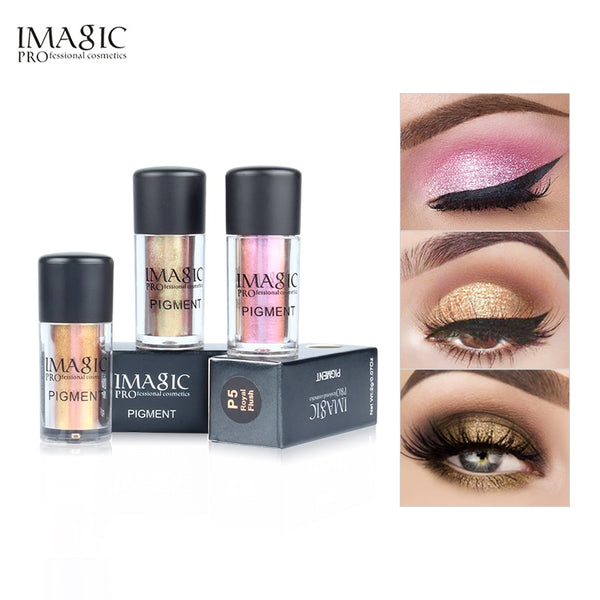 IMAGIC Professional Glitter Eyeshadow  Palette 9 Colors  Pigment  Eye Shadow Makeup Brand Beauty  Cosmetic