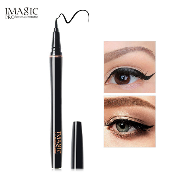 IMAGIC Professional  Waterproof Nature Long Lasting  Liquid Eyeliner - Black High Pigment Long Lasting Makeup Eyeliner