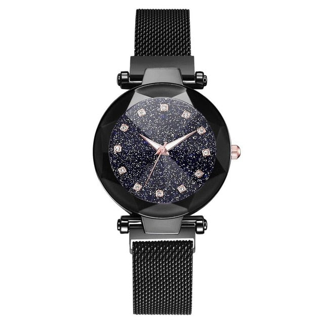 Bracelet Watches For Women Crystal Analog Quartz