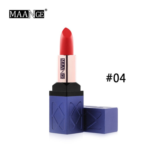 10 Colors Velvet Moisturizer Luxury Silky Matte Lipstick Makeup Easy To Wear Lip Stick Long Lasting Cosmetic NEW ARRIVAL