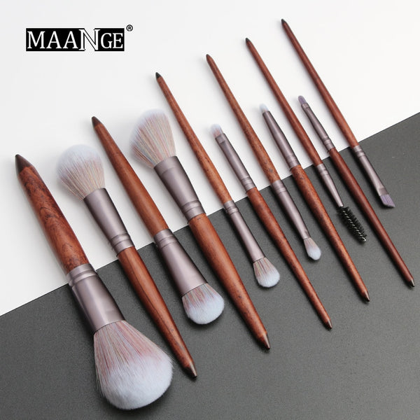 NEW 11Pcs Makeup Brushes Set Cosmetic Foundation