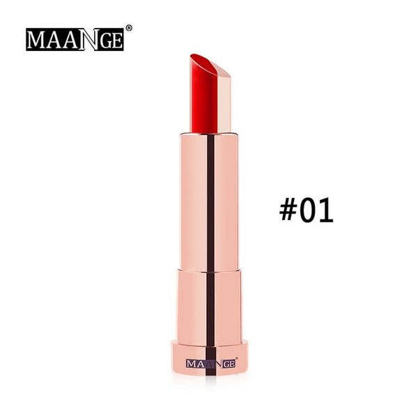 Double Color Lipstick Moisturizer Easy To Wear Long Lasting Plant Luxury Essence Lipstick Lip Makeup Beauty Tool HOT SALE