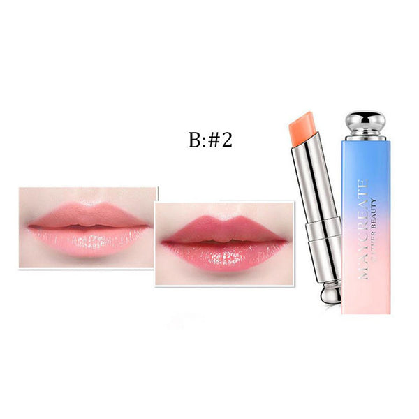 Hot Fashion Beauty Bright Crystal Jelly Lipstick Magic Temperature Change Color Lip Maquiagem Drop Shipping