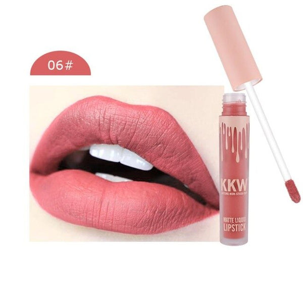 Professional Makeup Lip Gloss Sexy Long Lasting Waterproof Lip Liquid Matte Pencil Lipstick Lip Gloss Beauty Comestic
