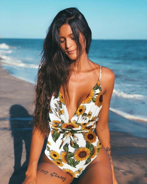 New  Sexy One Piece Swimsuit