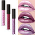 Fashion Lip Gloss Metallic Moisturizing Lasting Lipstick Cosmetics Women Sexy Lips Metallic Lip Gloss Makeup