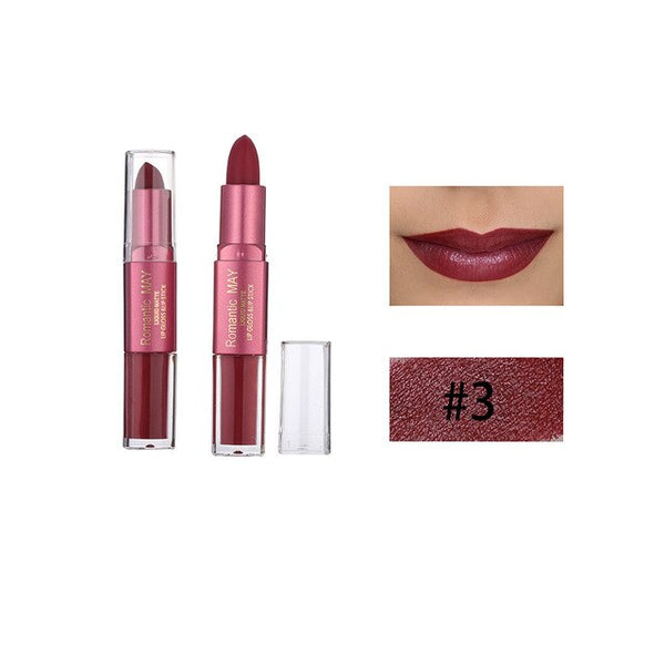 ROMANTIC MAY Lipstick Moisturizer Matte Lips Stick Long Lasting Charming