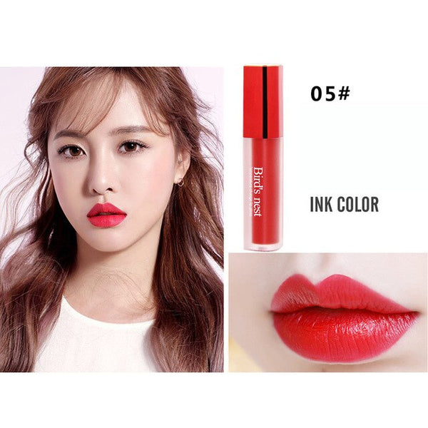 New Professional Lipstick Cosmetics Long-lasting Waterproof Women Velvet Matte Lipstick Lip Gloss Fashion Makeup Beauty