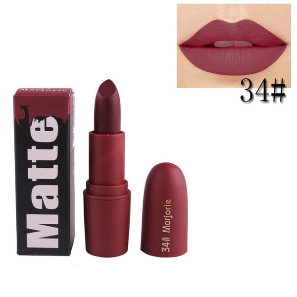 New Professional Makeup Lipstick Easy to Wear Moisturizer Smooth Lips Stick Long Lasting Charming Lip Lipstick Cosmetic Beauty