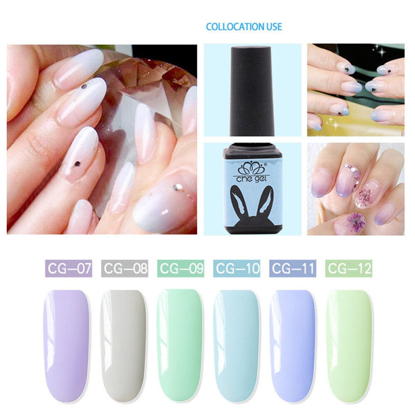 Nouveau Nail Art Gel 5 ml CHE GEL À Ongles UV Gel Vernis Tremper Nail Art Finition Manteau Bas de Gel Vernis Décoration Maquillage
