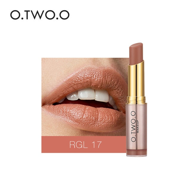 High Quality 20 Colors Matte Lipsticks Waterproof Matte Lipstick Lip Sticks