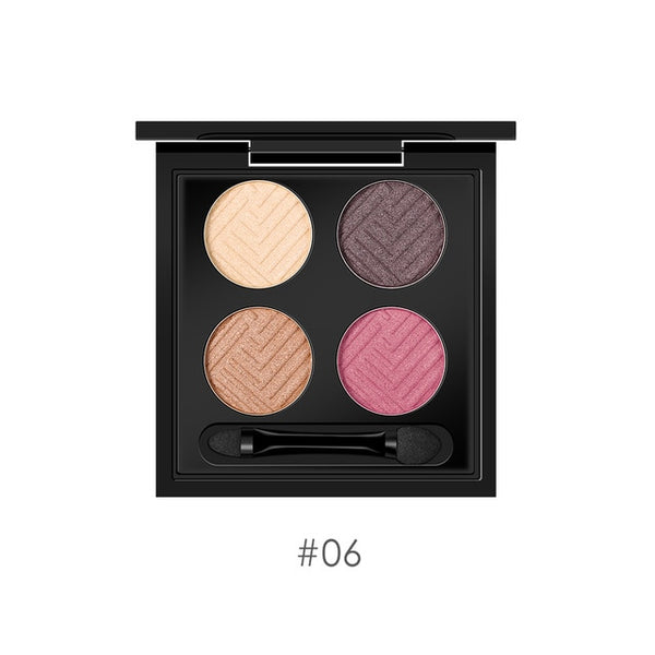 O.TWO.O 4colors  Eyeshadow Makeup long lasting Eye shadow Colors Eyeshadow Palette Matte Diamond Glitter Matallic