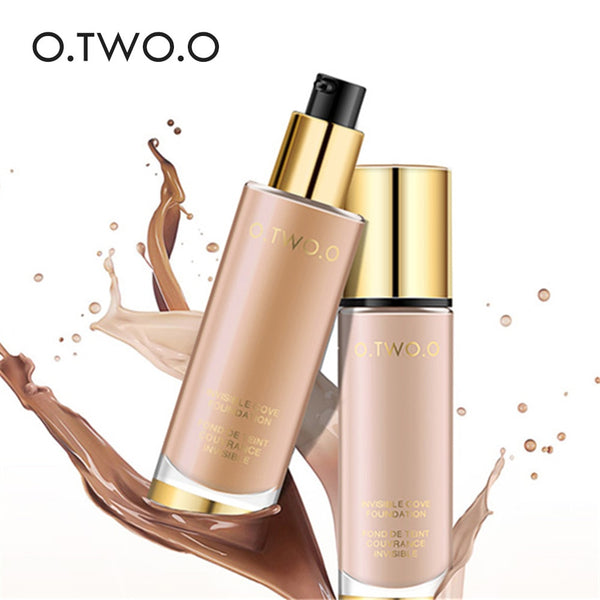 HIGH QUALITY Liquid Foundation Invisible Full Coverage Make Up Concealer Whitening Moisturizer Waterproof 30ml