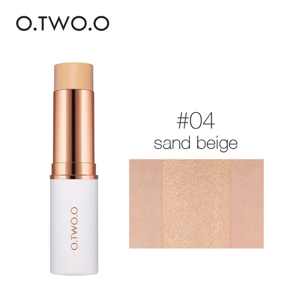 O.TWO.O Magical Concealer Stick Foundation Makeup Full Cover Contour Face Concealer Cream Base Primer Moisturizer Hide Blemish