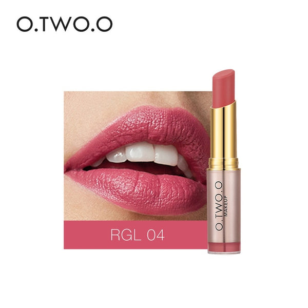 O.TWO.O Makeup Nude Matte Lipstick 20 Colors batom Vevet Long Lasting Kissproof Cosmetic Long-lasting Make Up