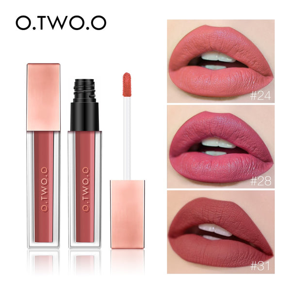 NEW Matte Lip Gloss Moisturizer Waterproof Smooth Long Lasting 12 Color