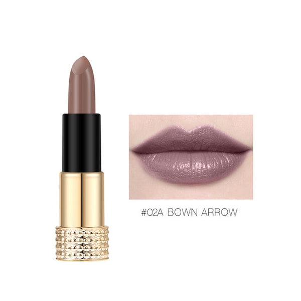 High Quality Matte Lipstick Nude Long-lasting Easy to Wear Waterproof Makeup Lips 12 Colors
