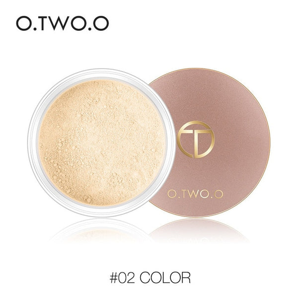 Smooth Matte Loose Powder Makeup Transparent Finishing Powder Waterproof For Face Finish Setting With Cosmetic Puff