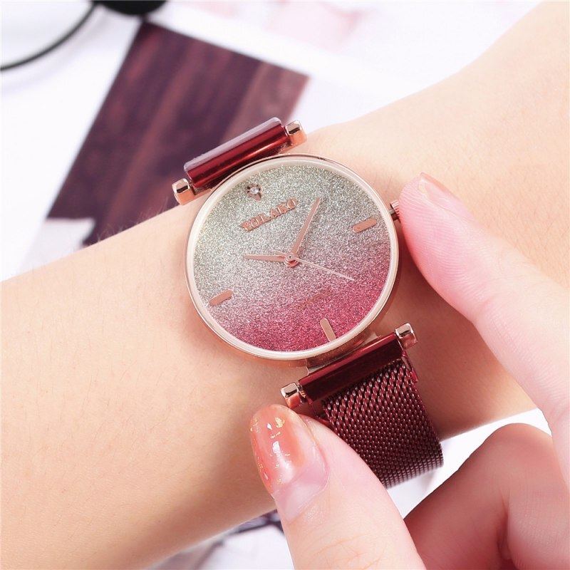 Personality Magnet Ladies Bracelet Watch Star