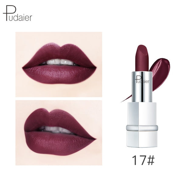 HOT 17 Colors Matte Lipstick for Lips Makeup Matte Lipsticks Long Lasting Natural