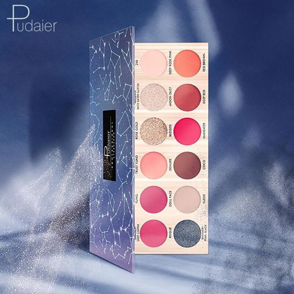 Eyeshadow Pallete Set Starry Palette of Shadows Glitter Eyeshadow High Quality  18 Colors