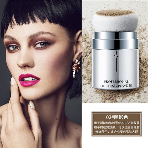 Hot Full Coverage Skin Pore Control Oil Face Loose Powder Makeup Base