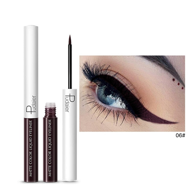 1PC 15 Colors Matte Liquid Eyeliner Eye Liner Eyeshadow Pencil Waterproof Makeup Long Lasting