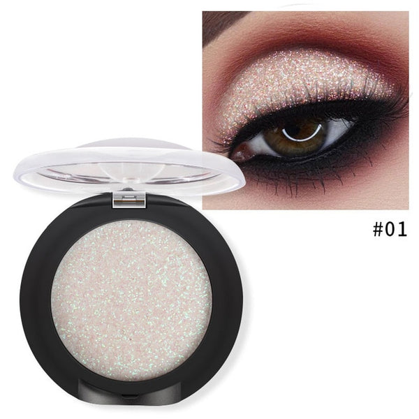 HOT 20Colors Glitter Palette Eyeshadow Powder Matte Brush Eye Shadow