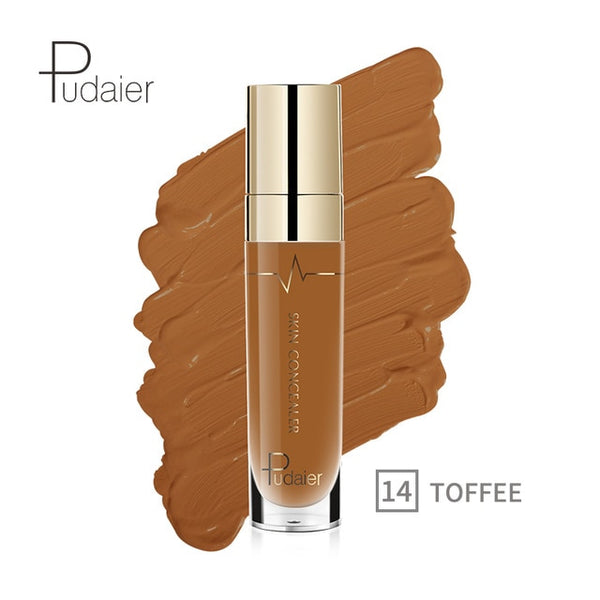 Pudaier 1PC 4.5ML Face Concealer Makeup Corretivo Maquiagem Foundation Base Cover Eye Dark Circles Anticerne Correcteur