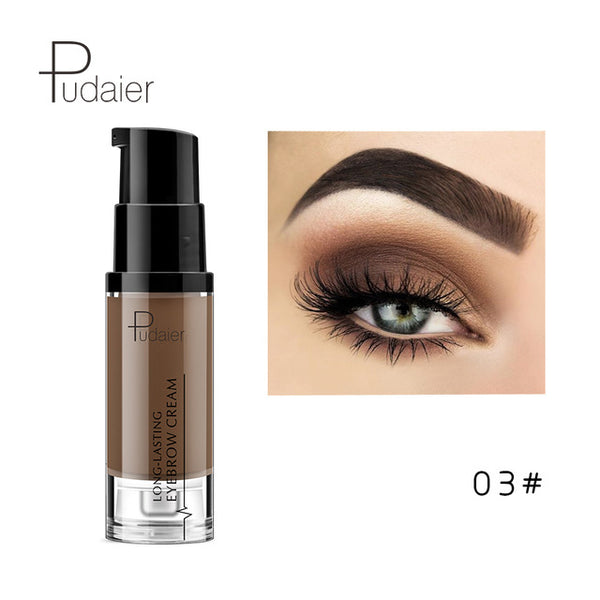 New 6 Colors Eye Brow Pencil Waterproof Natural Paint Eyebrow Gel Makeup