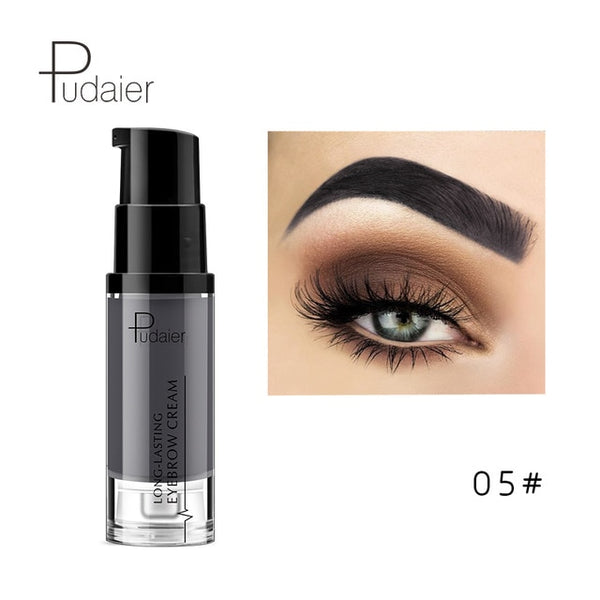Pudaier 1PC 6 Colors Eye Brow Pencil Waterproof Lapiz Cejas Cosmetics Crayon Sourcil Natural Paint Eyebrow Gel Makeup