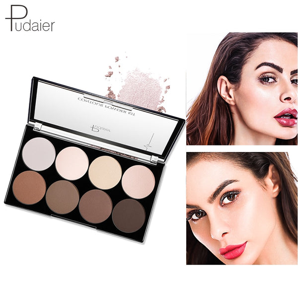 Pudaier 1PC Loose Face Setting Powder Brighten Shimmer Makeup Polvos Maquillaje Poudre Visage Maquillage Matte Cosmetic