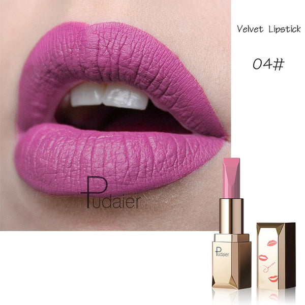 NEW Matte Lipstick Waterproof Makeup 26 sexy colors